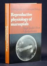 Monographs on Marsupial Biology 1987 Reproductive Physiology of Marsupials
