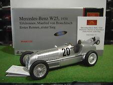 MERCEDES BENZ W25 de 1934 au 1/18 Eifelrennen Manfred von Brauchitsch CMC M-103