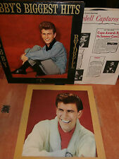 """bobby rydell""""biggest hits""""lp12""""or.usa.po/dble + 2 insert.cameo:c1009."""