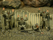 "Custom Built 1:35 WWII German ""Surrender"" Soldier Set"