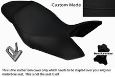 BLACK STITCH CUSTOM FITS TRIUMPH SPEED TRIPLE 1050 11-13 LEATHER SEAT COVER