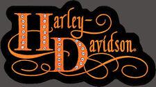 HARLEY DAVIDSON Studded Harlequin XL RETRO HARLEY PATCH