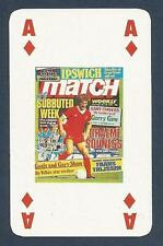 MATCH MAGAZINE-20 YEAR ANNIVERSARY COVER PLAYING CARD-LIVERPOOL-GRAEME SOUNESS-A