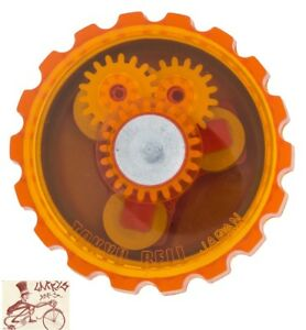 MIRRYCLE JELLIBELL ORANGE BICYCLE BELL