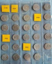 Jäger  301  50 Pfennig  1919 - 1922 kpl