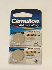 2x Camelion Lithium Knopfzelle CR2016 DL2016 5000LC E-CR2016 BR2016