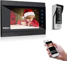 TMEZON 7 Inch Wireless/Wifi Smart IP Video Door Phone Intercom System Doorbell