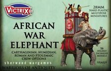 28mm War Elephants With 4 Crew Options Victrix, Hail Caesar, Swordpoint Ancients