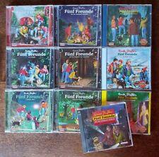 Fünf Freunde, Enid Blyton: 9 Hörspiele und 1 Hörbuch, Audio-CDs !!!