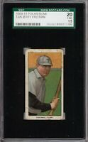 Rare 1909-11 T206 Jerry Freeman Polar Bear Back Toledo SGC 1.5