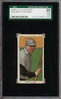 Rare 1909-11 T206 Jerry Freeman Polar Bear Back Toledo SGC 1.5
