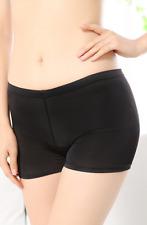 Boxer shorty panty noir deuxième peau extensible confortable