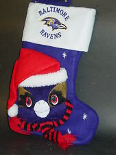 NFL Baltimore Ravens Mascot Christmas Stocking, New