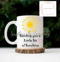 Personalised Social Distance Hug In A Mug Gift Isolation Lockdown Sunshine