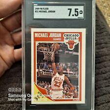 1989-90 Fleer Michael Jordan #21 SGC 7.5 NM+