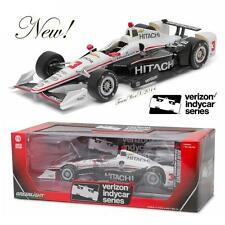 GREENLIGHT 10978 1:18 2016 #3 HELIO CASTRONEVES HITACHI IZOD INDY 500 RACE CAR