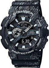 *NEW* CASIO MENS G SHOCK GRAFFITI BLACK OVERSIZE WATCH XL GA110Tx-1A RRP£159