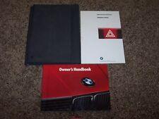 1990 BMW 316i 318i 318is 320i 325i 325ix 324d 324td Owner Operator User Manual