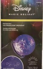 Disney Magic Holiday Enchanting Led Projection Spotlight White Blue Purple New