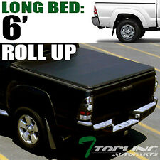 """LOCK & ROLL SOFT TONNEAU COVER 2016-2017 TACOMA ACCESS/DOUBLE CAB 6/72"""" LONG BED"""