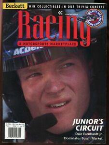 Beckett Racing Magazine #56 April 1999 Dale Earnhardt Jr. Cover VG