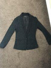 Juicy couture Black Lace Blazer Jacket RRP£130 XS