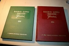 Vintage Railway Supply Industry Yearbooks 1951-1952, 1st and a 2nd Edition