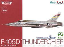 1/144 Fighter: Republic F-105D Thunderchief [USAF] 2x  Kits 3 Decal Ops : PLATZ