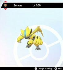Pokemon Sword/Shield Mythic Pokemon Zeraora 6IV Any Nature 100% Legal (Event)