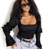 By Alina MEXTON Damenshirt Sexy Shirt Top Tunika Oberteil Bluse 34 - 38 #D347