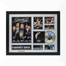 Parkway Drive Signed & Framed Memorabilia - 1CD - Silver/Black Edition