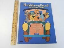 1959 Vintage Hanna Barbera Whitman *Huckleberry Hound Coloring Book Not Colored