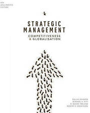 NEW Strategic Management Competitiveness & Globalisation by Hanson (6 Ed + CODE)