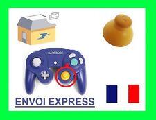 bouton réparation manette game cube joystick jaune stick jaune console gamecube