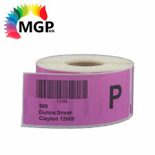 1 Compatible for Dymo / Seiko 99012 Light Pink Label 36mm x 89mm Labelwriter450/