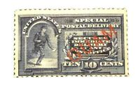 US 1895 Scott #E1a Special Delivery Guam Ovpt H OG CV $200 Stamp Low Price