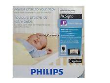Philips B120 InSight Wireless HD Baby Monitor IOS iPad iPhone Camera Dectector