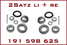 2x Radlagersatz Hinterachse AUDI 80 (89,89Q,8A,B3) 1.6 1.8 1.8 E 1.8 S 2.0 +16V