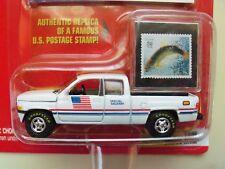 JOHNNY LIGHTNING - UNITED STATES POSTAL SERVICE - 1996 DODGE RAM PICKUP TRUCK
