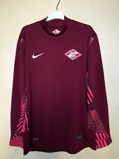 FC SPARTAK MOSCOW GK NIKE FOOTBALL JERSEY CAMISETA SOCCER MAGLIA PLAYER ISSUE