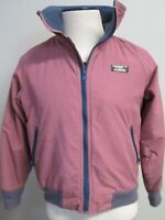 Vintage LL Bean PolarPlus Jacket Field Coat Full Zip Womens Pink Sz M