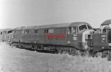 PHOTO  DIESEL LOCOS D600 & D601 AWAITING SCRAPPING