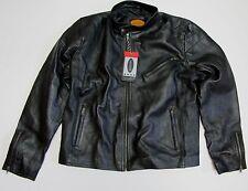 Laverapelle Mens Real Leather Jacket Black - Men's Size XXL NWT