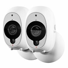 2x Swann Smart Home HD Security Camera, Wire-Free, Indoor/Outdoor Night Vision