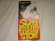 "Essential SLY & THE FAMILY STONE 2002 promo only 12"" x 24"" flats POSTER"