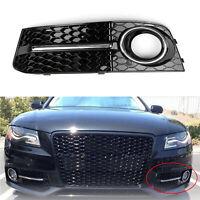LH Honey Comb Fog Light Cover Parrilla de calandre Pour Audi A4 B8 09-12 CHR FR