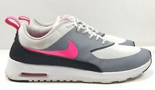 Nike Air Max Thea 599409-100 Running Shoes White/Hyper Pink/Black/Cool Grey 9.5*