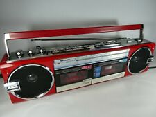 Old Vintage SHARP QT-77ER Boombox Ghettoblaster Portable Radio/ Stereo