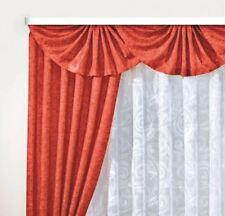 Dekogarnitur  Vorhang H 245cm 2x  Br je140cm  übergardine  Seitenschals Store