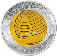 2017 $2 SATURN Solar System 6.7g Niobium + 8.3g Silver Coin..